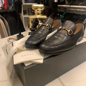 In mint condition Gucci loafer
